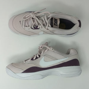 NIKE COURT LITE Womens Purple Tennis Trainers 845048 651 NEW - LoneSole