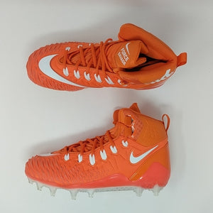 NIKE Force Savage Pro TD Football Cleats Orange/White 918346-818 Sz 9.5 - LoneSole
