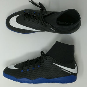 Nike HypervenomX Phelon III 3 DF IC Indoor Soccer Shoes Black ( 917768-002 ) - LoneSole