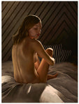 Aaron Nagel Visual Artist Surface Fine Art Nude Limited Edition Print