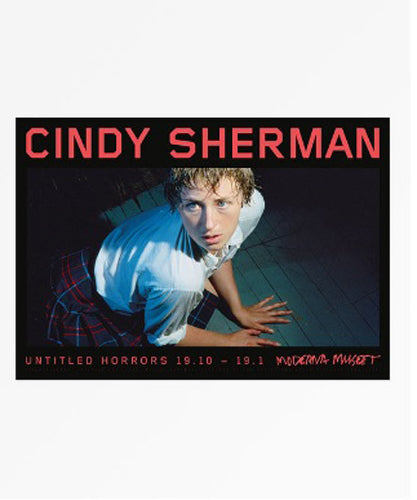 CINDY SHERMAN Untitled Horror 2013 Rare European Exhibition Poster
