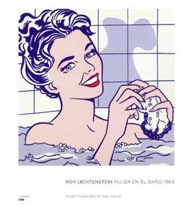 Roy Lichtenstein Original European Exhibition Poster