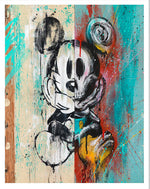 Meggs Street Artist Mickey Mouse Limited Edition Urban Fine Art Print