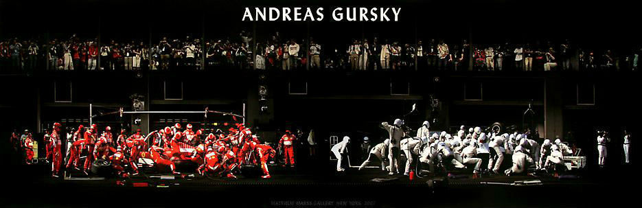 Andreas Gursky Original Exhibition Poster Fine Art Photography Panorama Master