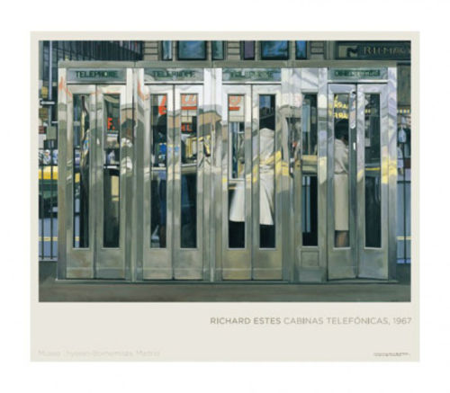 Richard Estes Photorealism Master Original European Exhibition Poster