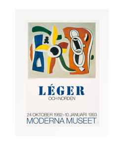 Fernand Leger Original 1993 Vintage Exhibition Poster Excellent Condition