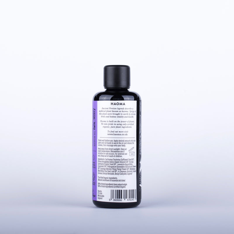 Organic Relax Massage Oil