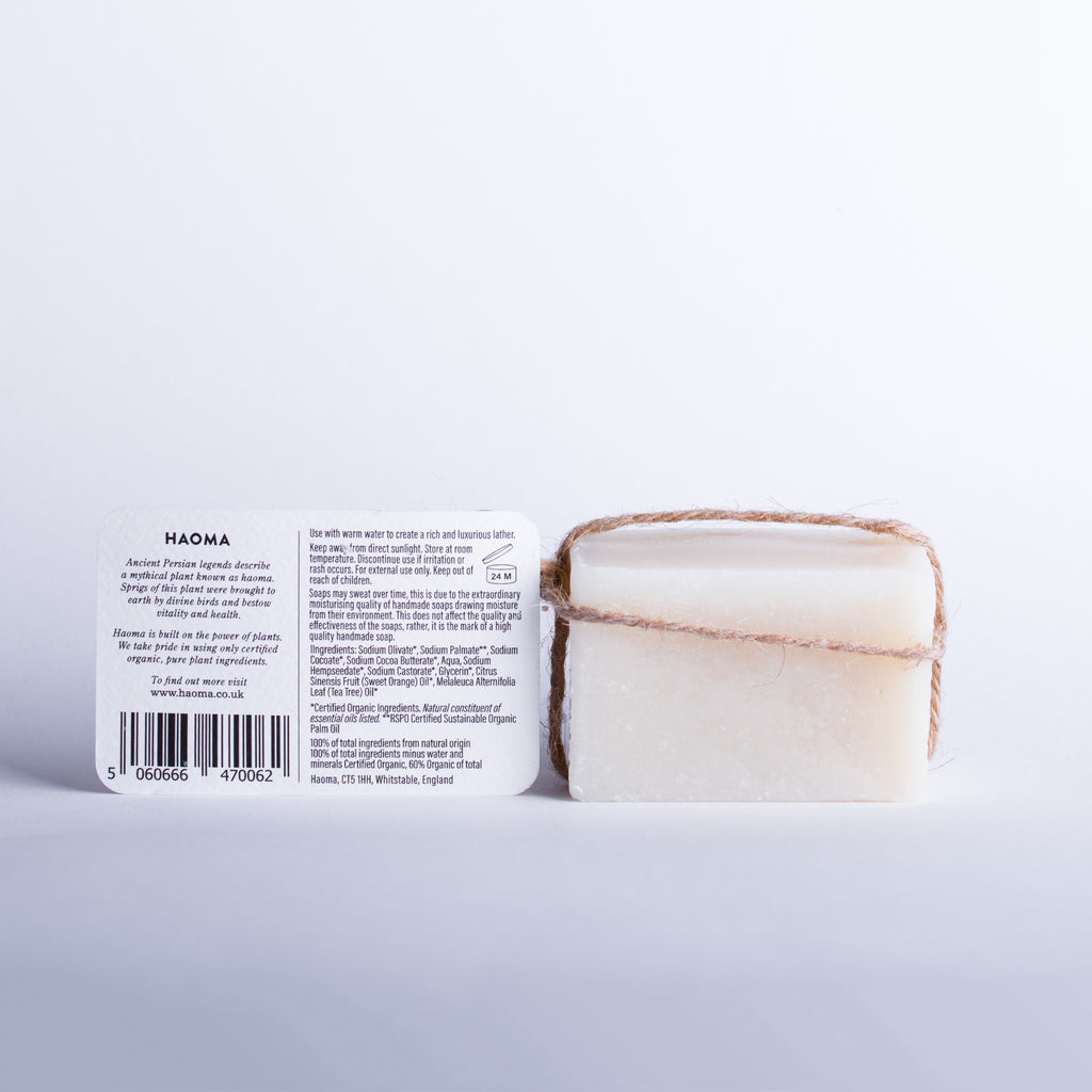 Organic Tea Tree Orange Soap