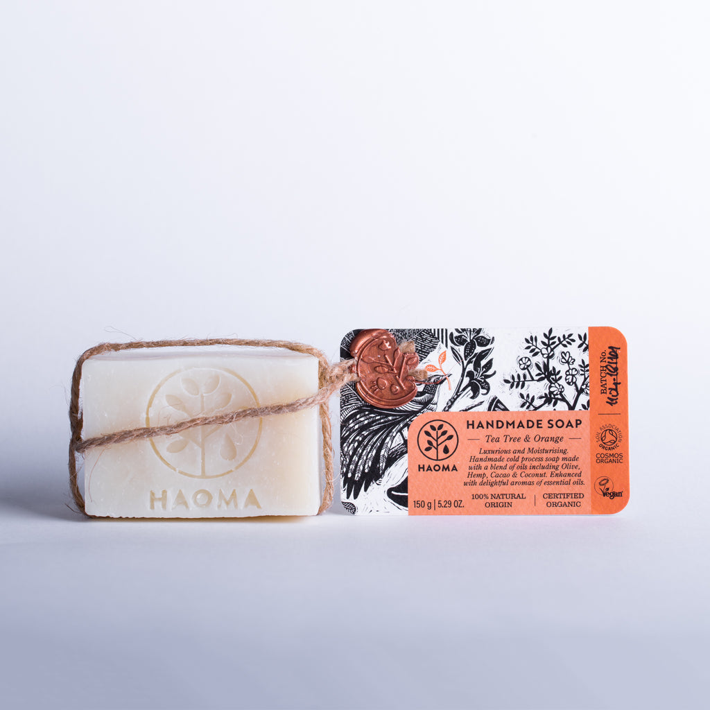 Organic Tea Tree Orange Gentle Soap