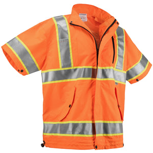Best Cooling Vest. High Visibility Cooling Jacket For Construction Workers And More. Orange And Yellow Available.