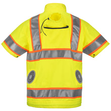 Load image into Gallery viewer, Best Cooling Vest. High Visibility Cooling Jacket For Construction Workers And More. Orange And Yellow Available.