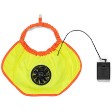 Load image into Gallery viewer, Cooling Hard Hat Fan Full Brim Hard Hats With AA Battery Pack