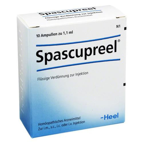 Spascupreel Ampoules, 1.1ml - 10 Amps