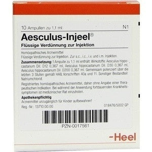 Aesculus Injeel - Ampoules