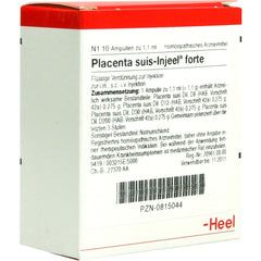 Placenta suis Injeel Forte Ampoules