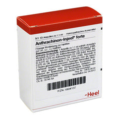 Anthrachinon Injeel Forte - Ampoules