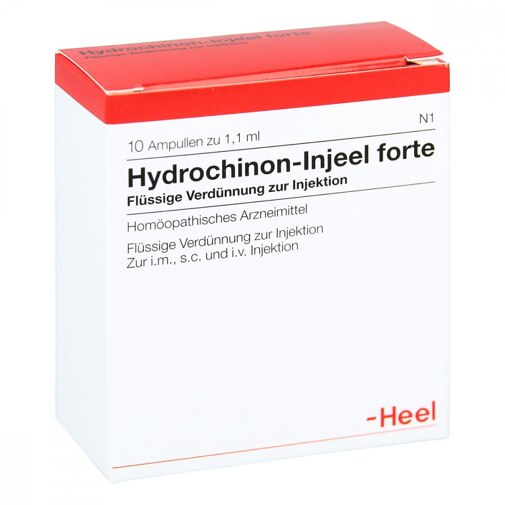 Hydrochinon Injeel Forte - Ampoules