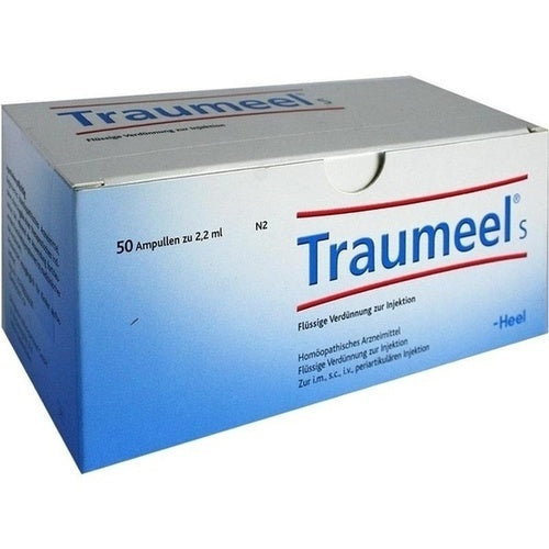 Traumeel S Ampoules, 50 Amps, 2.2ml