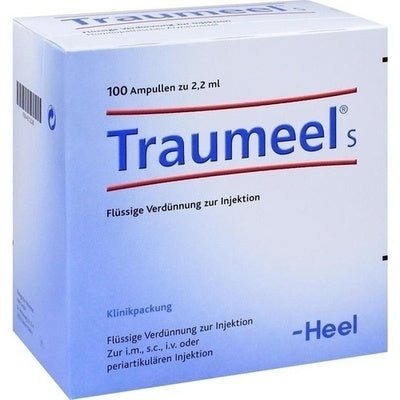 Traumeel S Ampoules, 100 Amps, 2.2ml