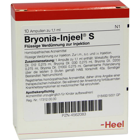 Bryonia-Injeel S Ampoules