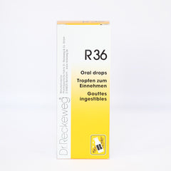 Dr. Reckeweg R36 - Drops, 50ml (Diseases of the Nerve)
