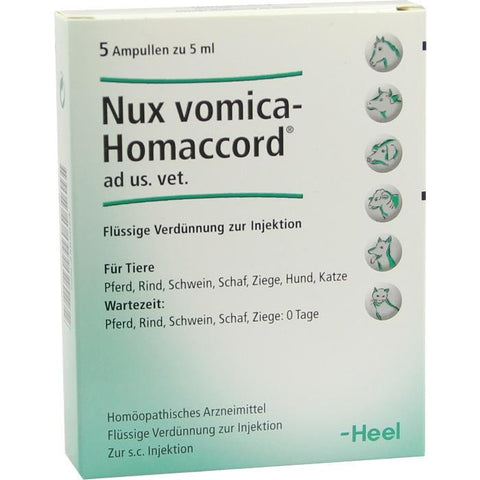 Nux-Vomica Homaccord - Ampoules 5ml