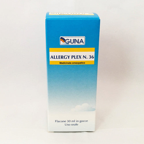 Guna Allergy Plex 36 (Desensitisation 1 Phyto Drainage) - Drops