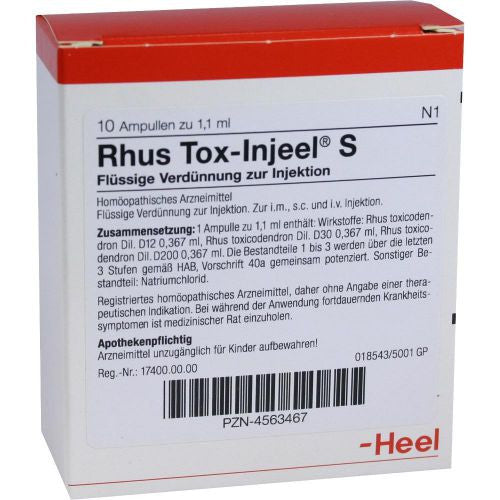 Rhus Tox Injeel S Ampoules