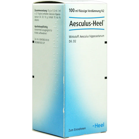 AesculusHeel Drops - 100ml