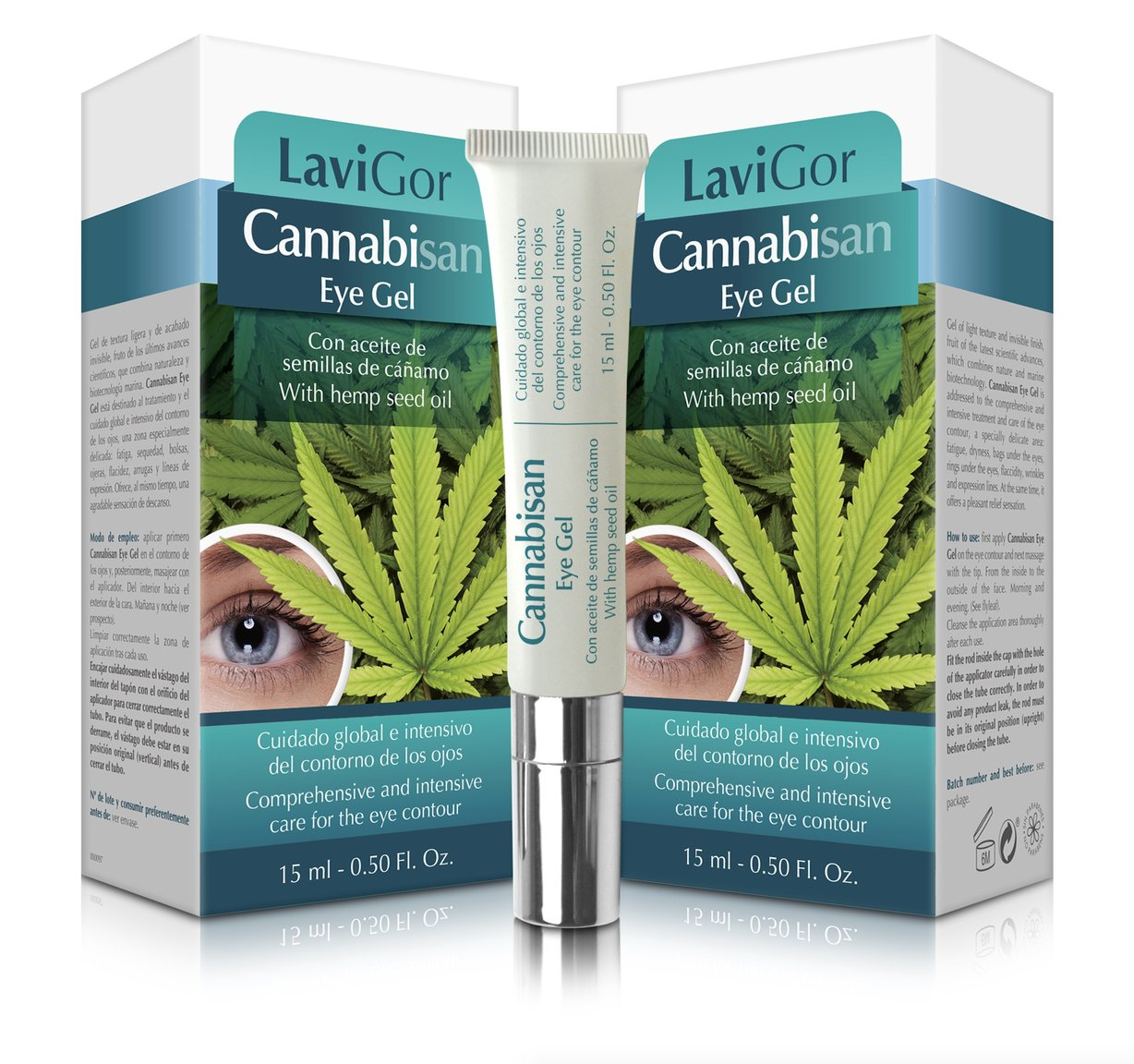 Tegor Cannabisan Eye Gel - 15ml