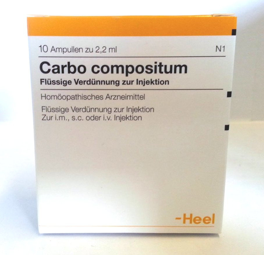 Carbo Compositum - Ampoules