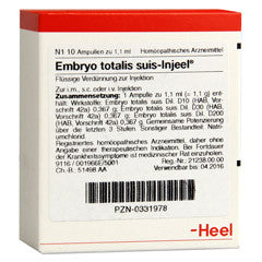 Embryo totalis suis-Injeel Ampoules