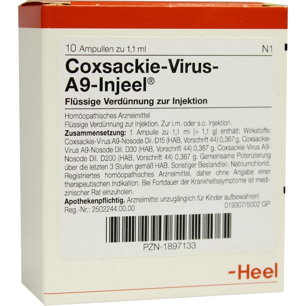 Coxsackie Virus A9 Injeel Ampoules