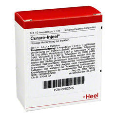 Curare Injeel - Ampoules