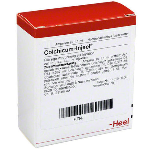 Colchicum Injeel Ampoules