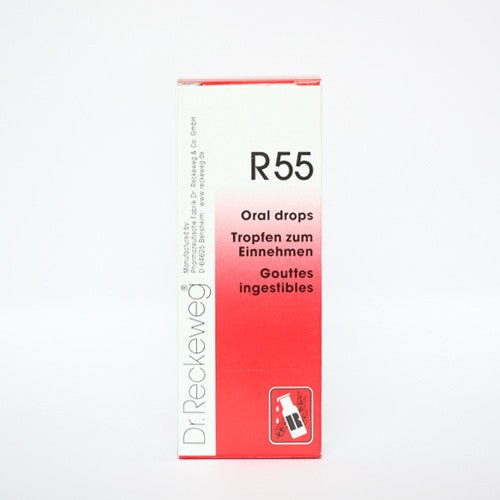 Dr. Reckeweg R55 - Drops, 50ml (All Types of Injuries)
