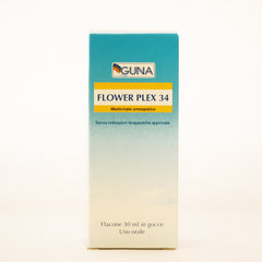 Guna Flower Plex 34 (Clear Thoughts) - Drops
