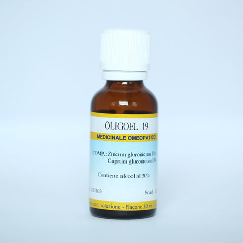 Guna Oligoel 19 (Zinc - Copper) - Drops