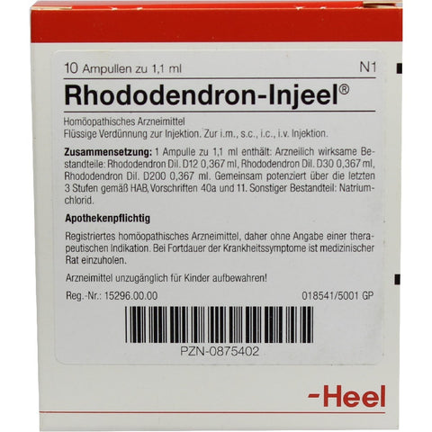 Rhododendron Injeel - Ampoules