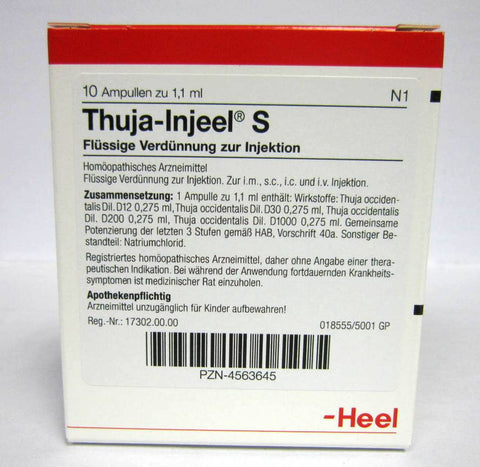 Thuja Injeel - 10 Ampoules