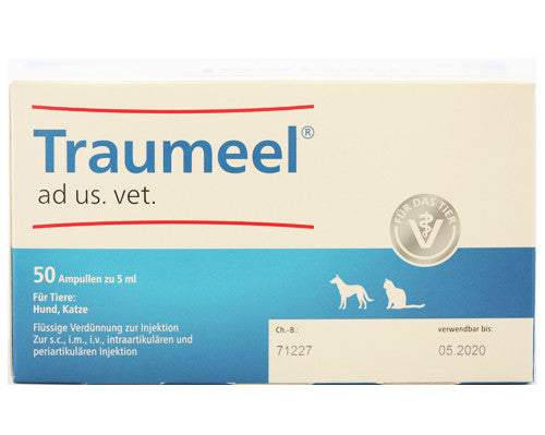 Traumeel S Ampoules - Large, 5ml - 50 Amps