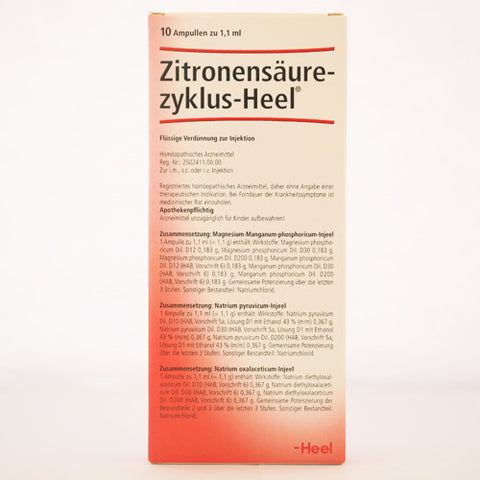 Citric Acid Cycle Set (Zitronensaurezllaus) Ampoules
