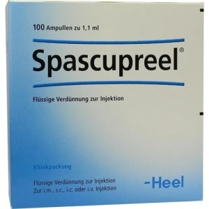 Spascupreel Ampoules, 1.1ml - 100 Amps