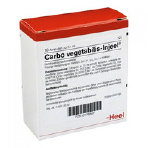 Carbo Vegetabilis Injeel - Ampoules