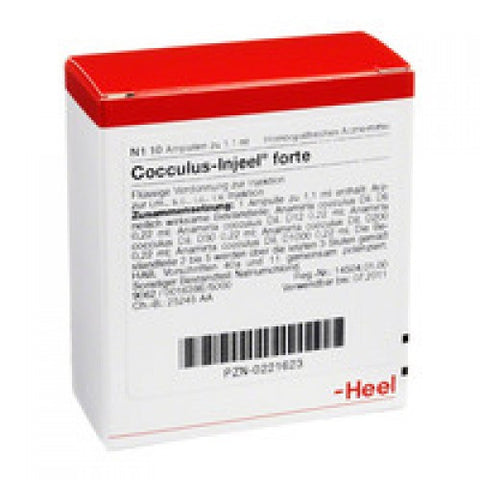 Cocculus Injeel Forte - Ampoules