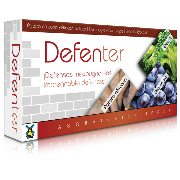 Tegor Defenter - 40 Capsules