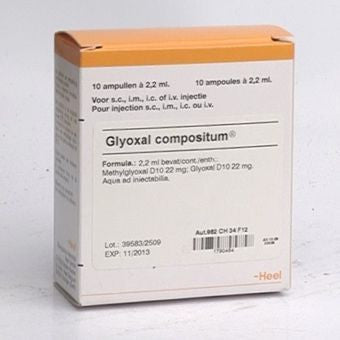 Glyoxal Compositum - Ampoules