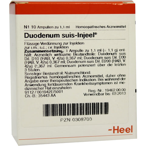 Duodenum Suis Injeel - Ampoules