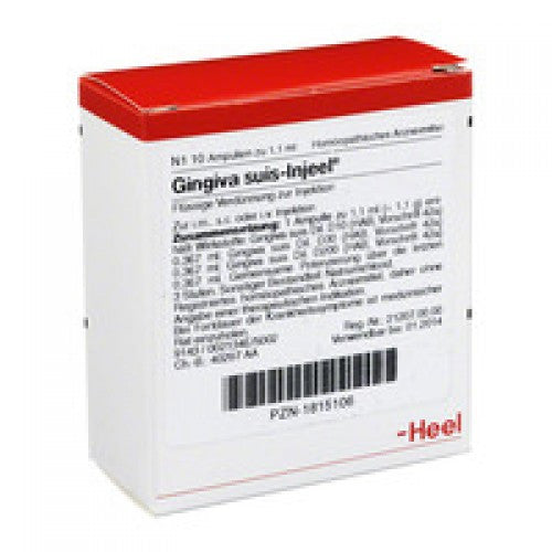 Gingiva Suis Injeel - Ampoules