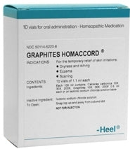 Graphites Homaccord - Ampoules